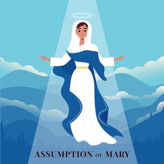 Annahme von maria abbildung