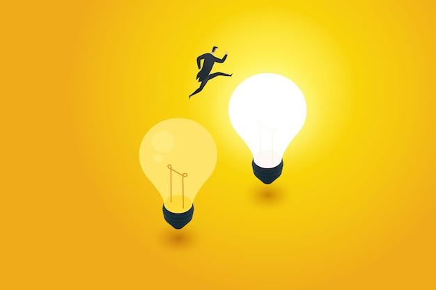Anpassung an die transformation von geschäftsinnovationen mit neuer kreativität, um über die ursprüngliche idee hinauszugehen