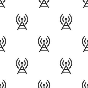 Antenne, nahtloses vektormuster, editierbar kann für webseitenhintergründe verwendet werden, musterfüllungen