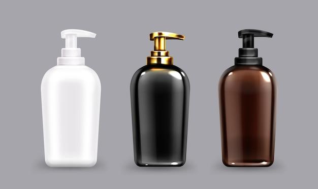 Antibakterielle handseifenflasche