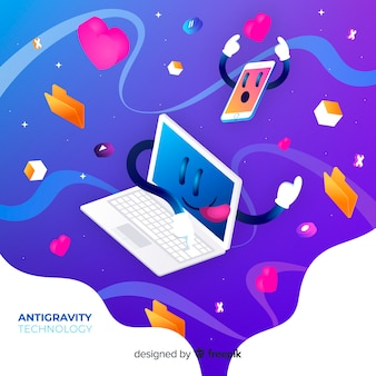 Antigravitations-technologie mit elementen