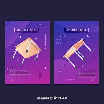 Antigravity geometrische formen decken