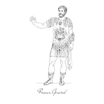 Antike römische abbildung