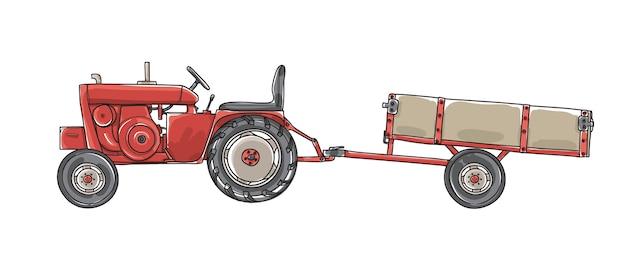 Antike traktoren