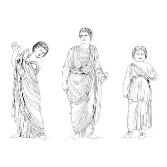 Antiken griechenland abbildung