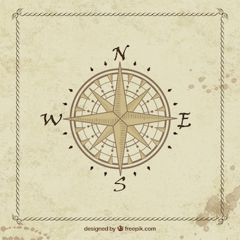 Antiken kompass-reisen