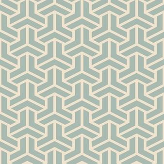 Antikes nahtloses polygon 3d-dreieckskreuz