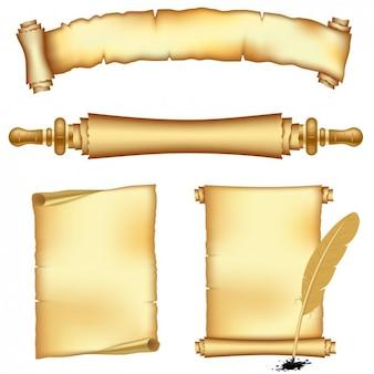 Antikes Pergament