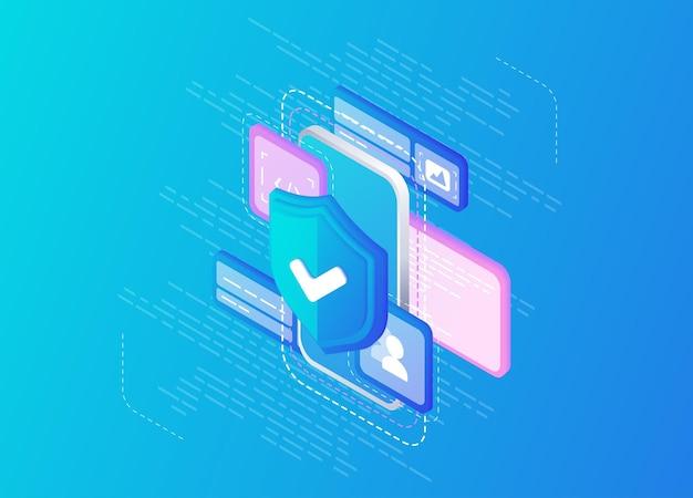 Antivirus online-computing internet-datenbank-backup-server programmiergeräteeingeschränkter zugriff