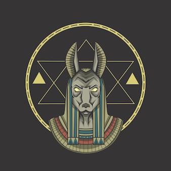 Anubis ägypten