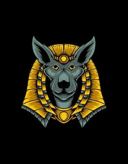 Anubis kopf