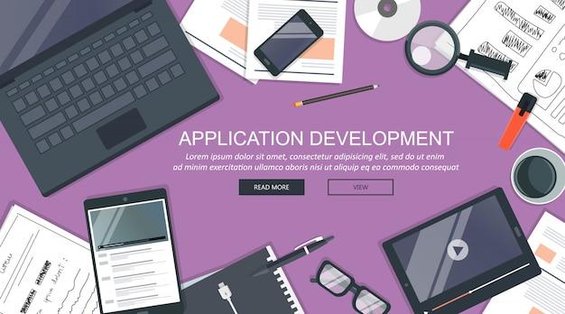 Anwendungsentwicklung, schreibtischkonzept