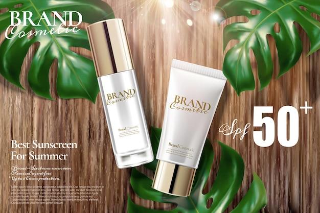 Anzeigen für kosmetikprodukte