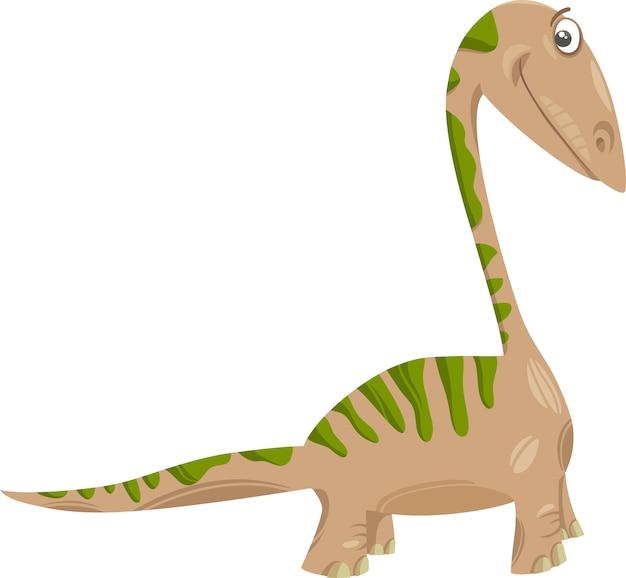 Apatosaurusdinosaurier-karikaturillustration