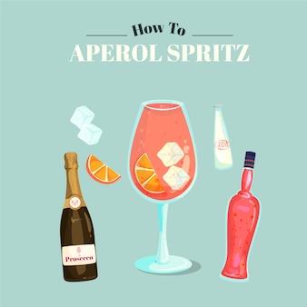Aperol spritz cocktail rezept