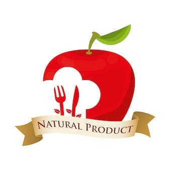 Apfelernährung lebensmittel naturprodukt
