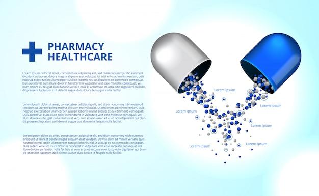 Apothekenpillen kapsel medizin gesundheitswesen