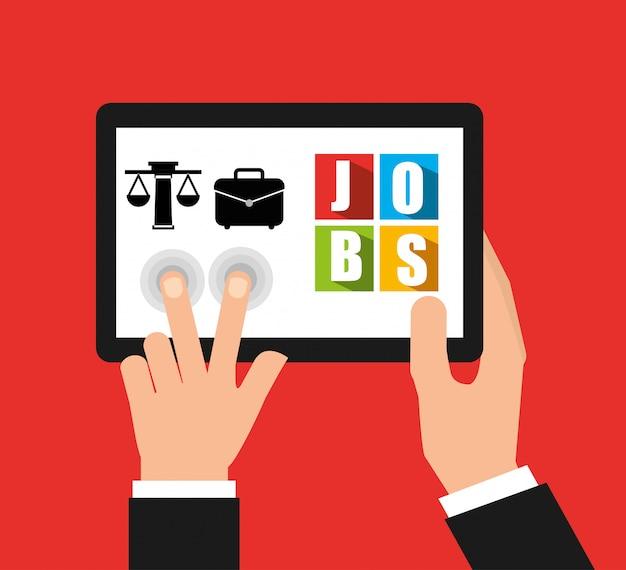 App für einen job