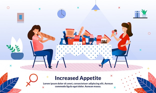 Appetit erhöhen während der schwangerschaft banner