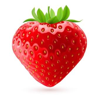 Appetitliche erdbeere