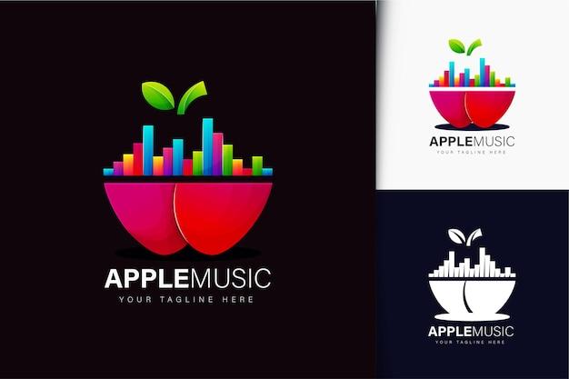 Apple music logo design