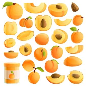 Aprikosensatz, karikaturart
