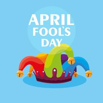 Aprilscherz joker hut