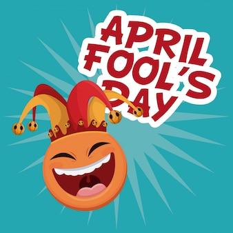 Aprilscherztag lächeln emoticon