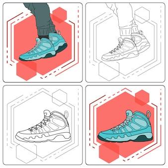 Aqua stiefel leicht bearbeitbar