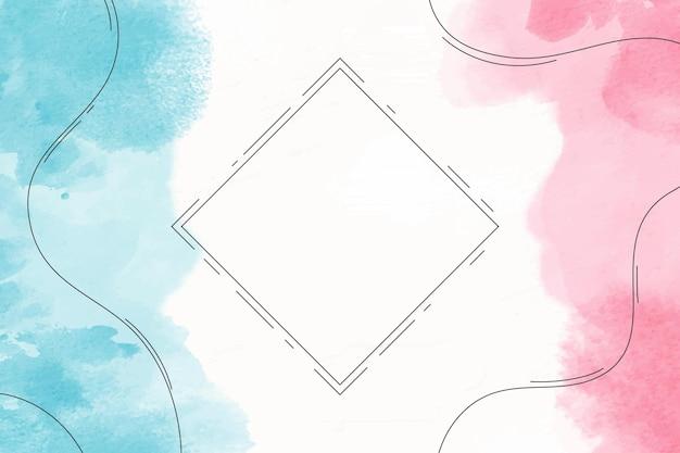 Aquarell abstrakter hintergrund Premium Vektoren