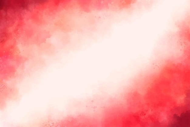 Aquarell abstrakter roter hintergrund