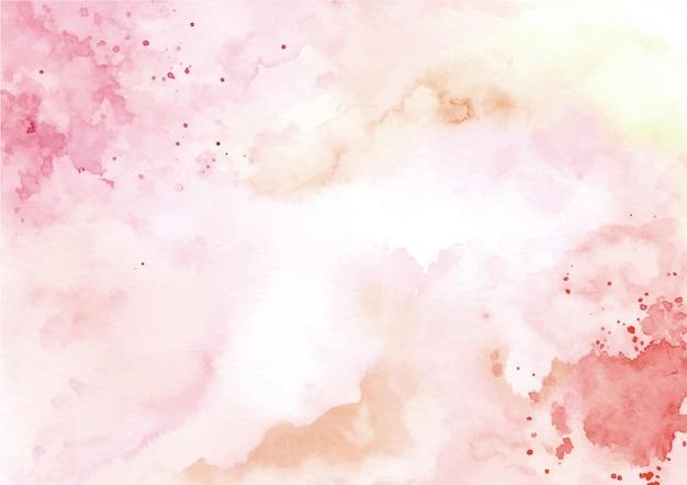 Aquarell abstrakter texturhintergrund mit spritzern