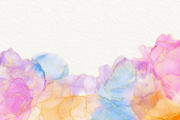 Aquarell alkohol tinte hintergrund