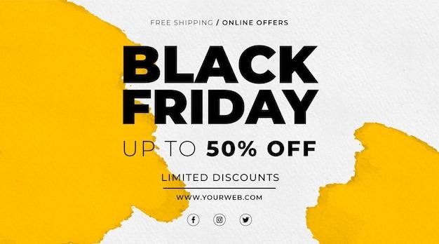 Aquarell black friday sale