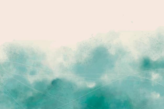 Aquarell blauer abstrakter hintergrund