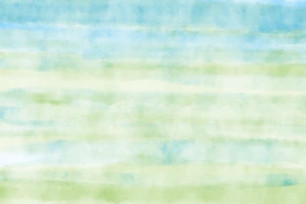 Aquarell blauer und grüner hintergrund