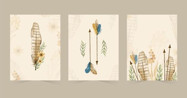 Aquarell-boho-cover-kollektion