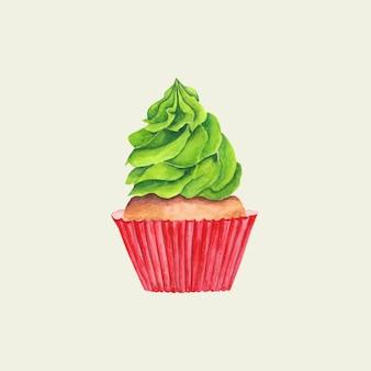 Aquarell cupcake