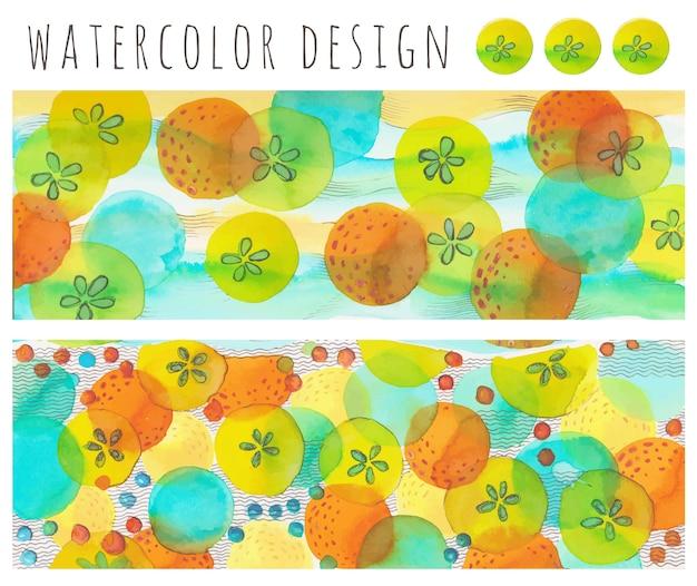 Aquarell design