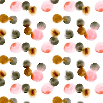 Aquarell dotty musterstil