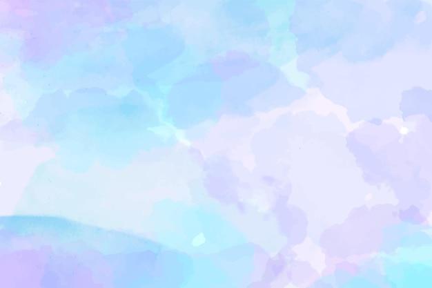 Aquarell gemalte abstrakte tapete