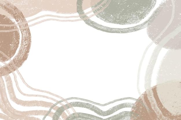 Aquarell hand gezeichneter minimalistischer abstrakter hintergrund mit farbpastell