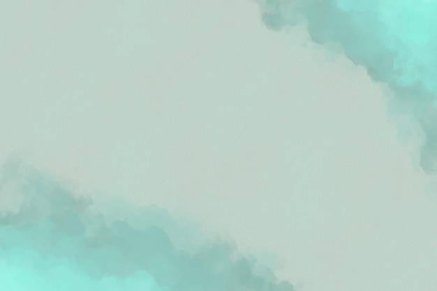 Aquarell hintergrund mit wolken