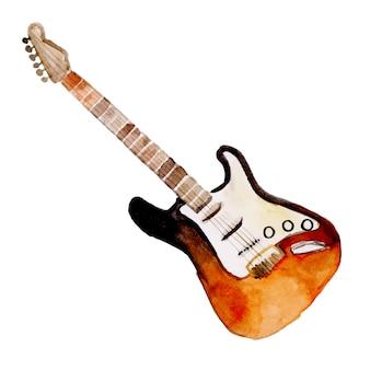 Aquarell musikinstrument