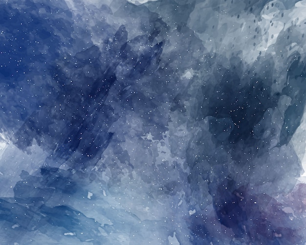 Aquarell raum hintergrund sternenhimmel aquarell textur