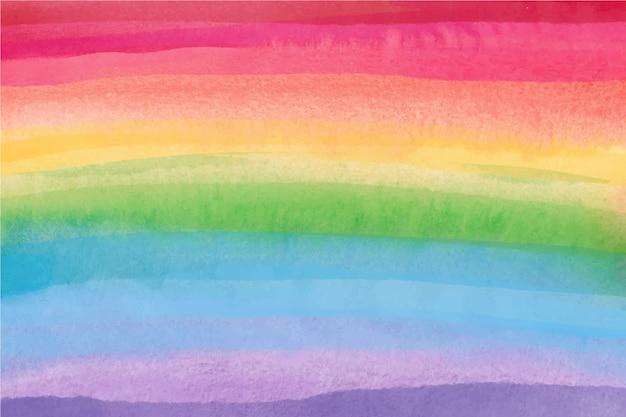 Aquarell regenbogen