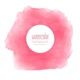 Aquarell rosa fleck textur hintergrund