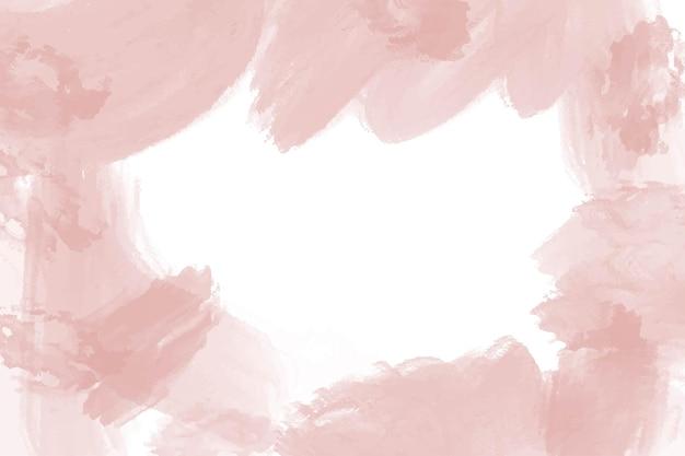 Aquarell rosa pfirsich abstrakten hintergrund