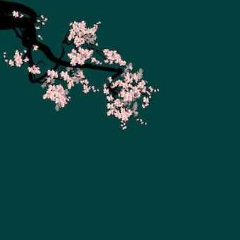 Aquarell-sakura-rahmen