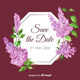 Aquarell speichern das datum